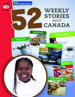 52 Weekly Stories About Canada Grades 7-8