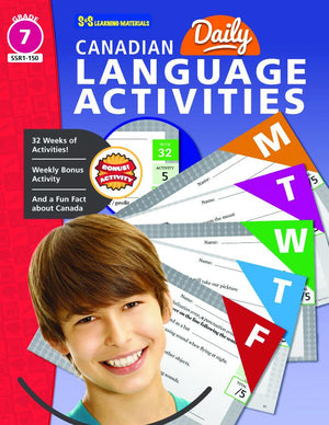 Canadian Daily Language Activities Grade 7