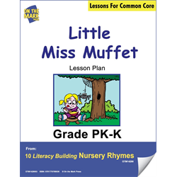 Little Miss Muffet Literacy Building Aligned To Cc Gr. PK-K