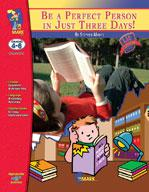 Be a Perfect Person in Just 3 Days, by Stephen Manes Lit Link Grades 4-6