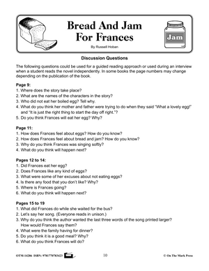 Reading with Frances Author Study Grades 1-3