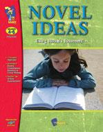 Novel Ideas Using Bloom's Taxonomy! - Open-ended for any Literature Grades 4-6