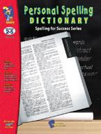 Personal Spelling Dictionary Grades 2-5