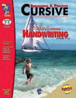 Modern Cursive Style Grades 2-4 Beginning & Practice Big Book Bundle