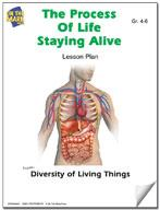 Staying Alive - The Process of Life Lesson Plan Characteristics of Living Things Grades 4-6