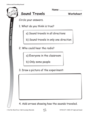 Echoes and Traveling Sound Gr. 1-3 (eLesson Plan)