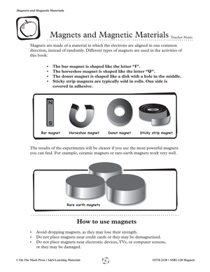 Magnets and Magnetic Material Gr. 1-3 eLesson Plan
