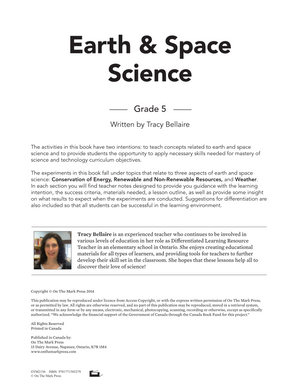 Energy Conservation, Weather & Resources - Earth Science Grade 5