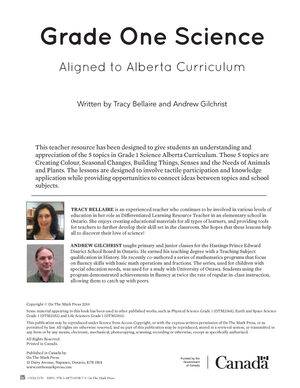 Alberta Grade 1 Science & Social Studies Bundle!