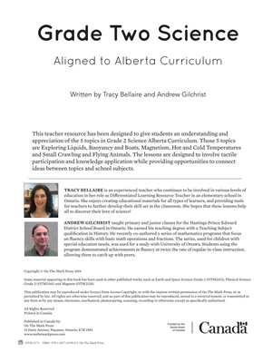 Alberta Grade 2 Science Curriculum