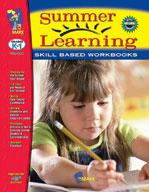 Summer Learning Grades Kindergarten to 1
