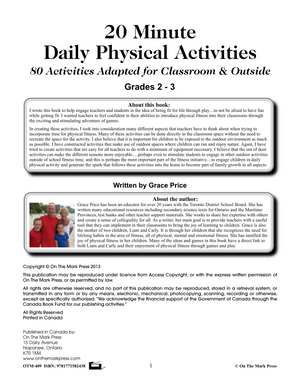 Daily Fitness Activities Grades 2-3