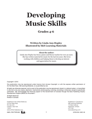 Developing Music Skills Grades 4-6