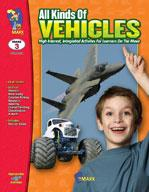 All Kinds of Vehicles Grade 3