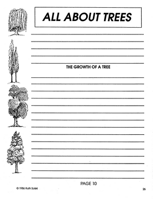 All About Trees Grades 4-6 book