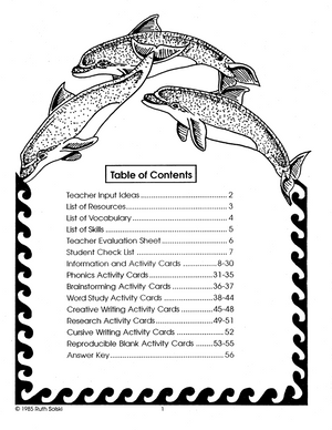 All About Whales Grades 3-4 book
