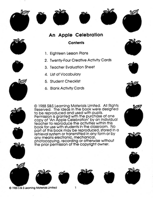 An Apple Celebration Grades 4-6