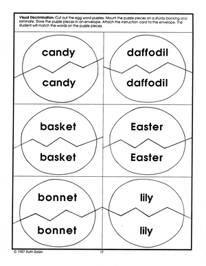 Easter Delights Theme Grades PreK-K