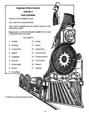 All About Trains Grades 2-4 book