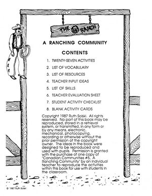 A Ranching Community Grades 3-4 book