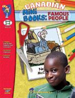 Canadian Mini-Books: Famous People Grades 2-4