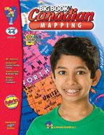 Big Book of Canadian Mapping Skills Grades 4-6