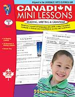 Canadian Mini Lessons: Reading, Writing, Grammar Grade 2