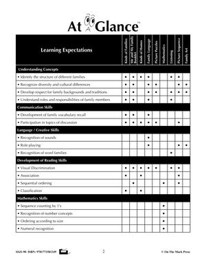 Today's Canadian Families Grades Pre K-1