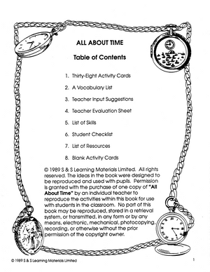 All About Time Grades 4-6