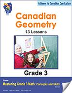 Canadian Geometry Lesson Plans & Activities Grade 3