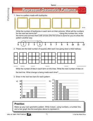 Canadian Patterning Lesson Plans & Activities Grade 3