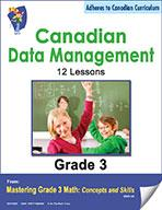 Canadian Data Management Lesson Plans & Activities Grade 3