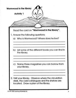 Discovering the Library Grades 2-3 book
