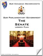 Canadian Government Lesson: The Senate Grades 5+