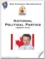 Canadian Government Lesson: National Political Parties Grades 5+