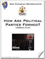 Canadian Government Lesson: How Are Political Parties Formed? Grades 5+