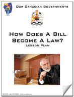 Canadian Government Lesson: How Does a Bill Become a Law? Grades 5+