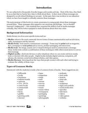 Canadian Media Literacy Grades 4-6