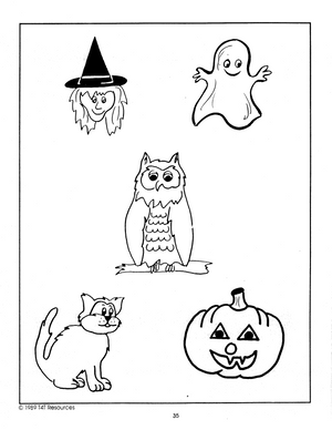 Halloween - An Integrated Theme Unit Grades Jk-Sk