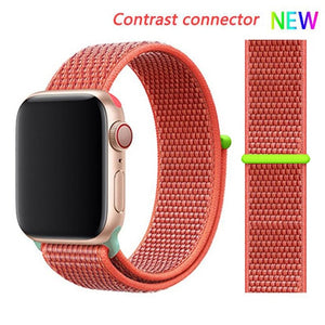 Nylon Strap for Apple watch 5 Band