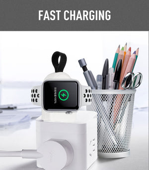 2 Colors Portable Wireless Charger for I Watch Charging Dock Station USB Charger Cable for Apple Watch Series2 3 4