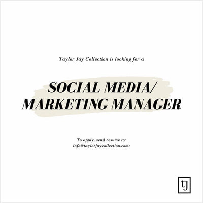 Social Media/Marketing Manager