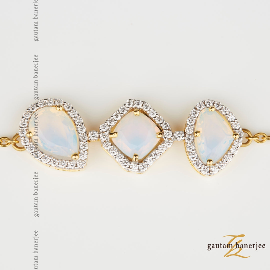 Triple Moonstones | B034