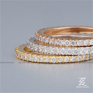 Trio Diamond Bands  | R012
