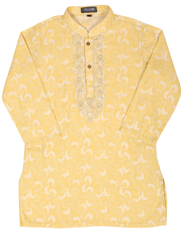 Boys' Panjabi OLD GOLD