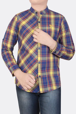 Junior Boys' Casual Shirt (10-14 Years)