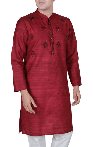 Men's Panjabi RICH RED