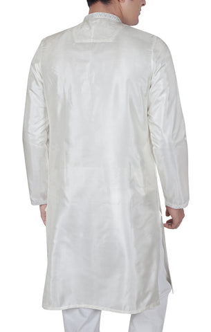 Men's Panjabi PEARL WHITE