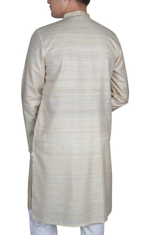 Men's Panjabi SPANISH WHITE