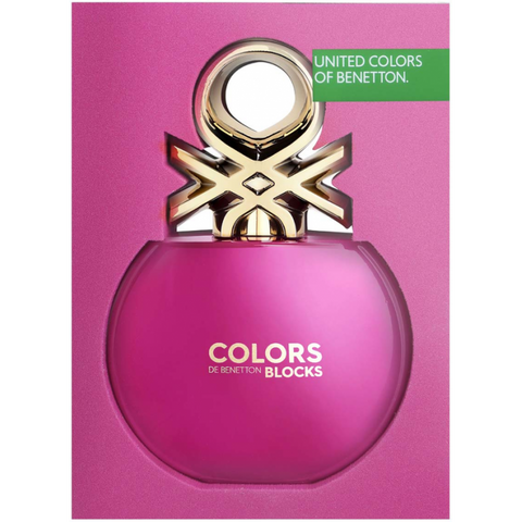 BENETTON COLORS PINK COLLECTOR EDT 80ML SPRAY
